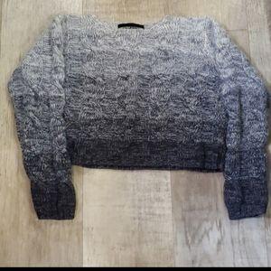 Adrienne Vittadini Ombre Wool Sweater